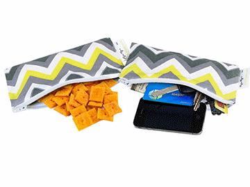 sunshine chevron mini snack pack